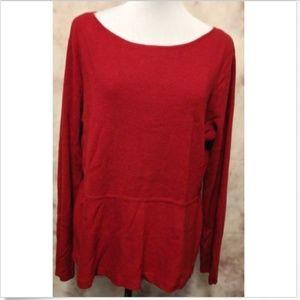 Jones New York Women's Size XL Scoop Cotton Blend